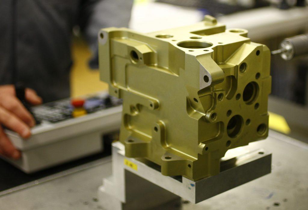 bloc mecanique traitement de surface
