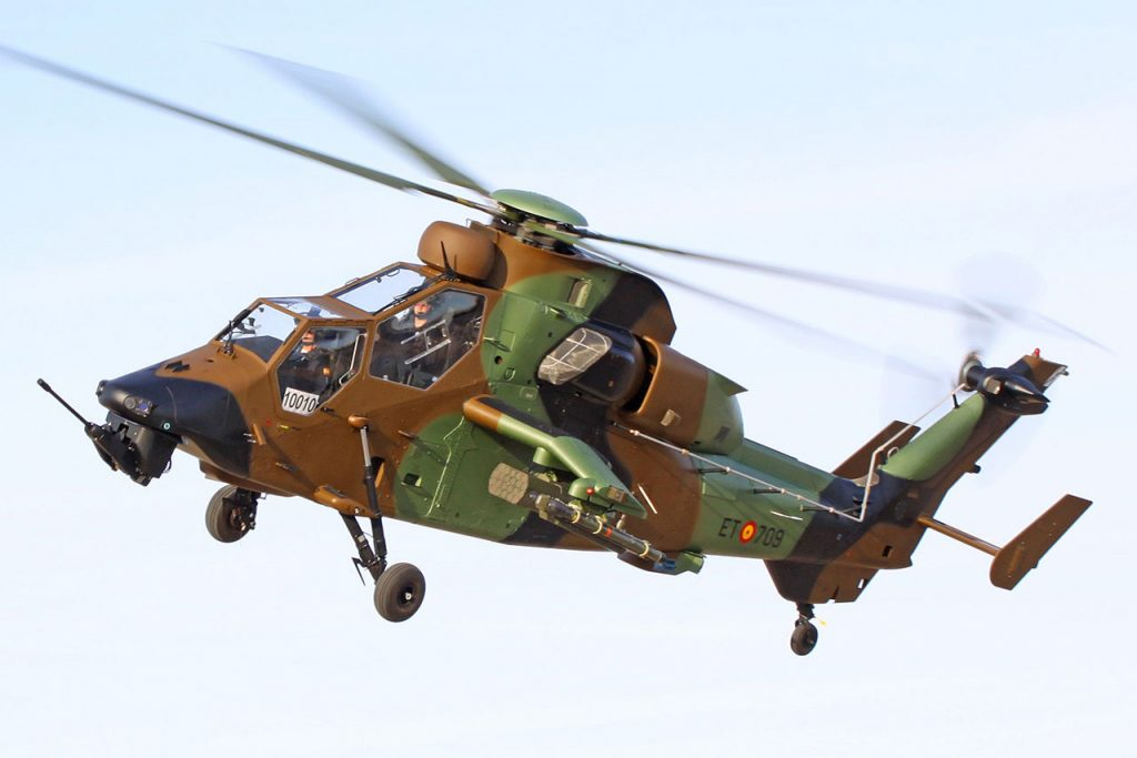 helicoptere tigre