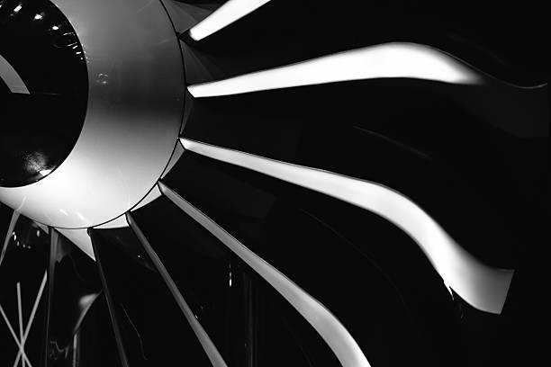 Moteur avion mécanique de précision